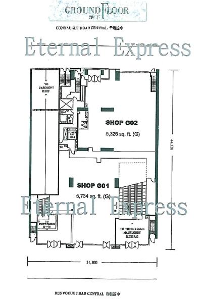 Li Po Chun Chambers Floor Plan